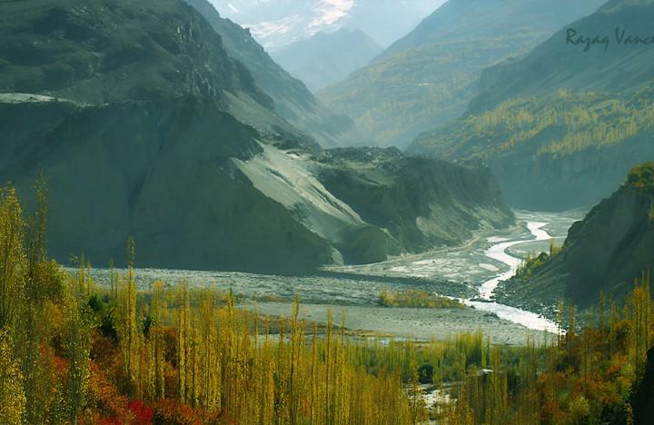 Mystic Mood Of Hunza Valley Pakistan In Autumn