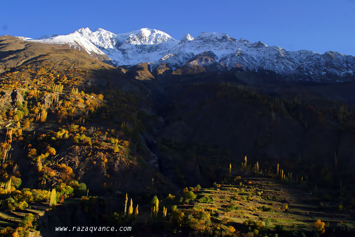 Colors Of Fall Along The KKH In Hunza Valley Pakistan