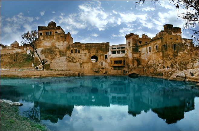 Architectural Depth And Beauty Of Katas Raj Temple In Pakistan