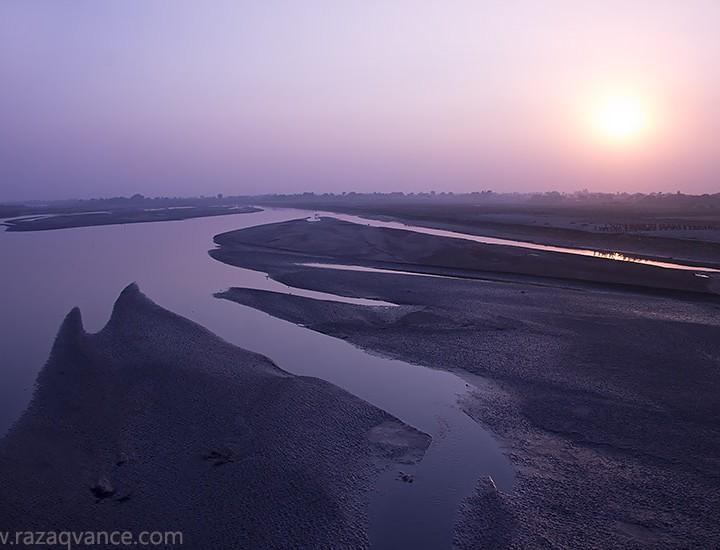 Incredible Natural Beauty Of River Ravi In Winter