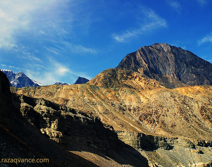 Beauty Of Karakorum Range In The Morning Light Near Chilas Pakistan