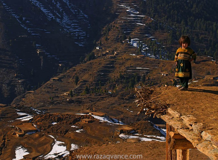 A Mountain Girl From Swat Vally Pakistan