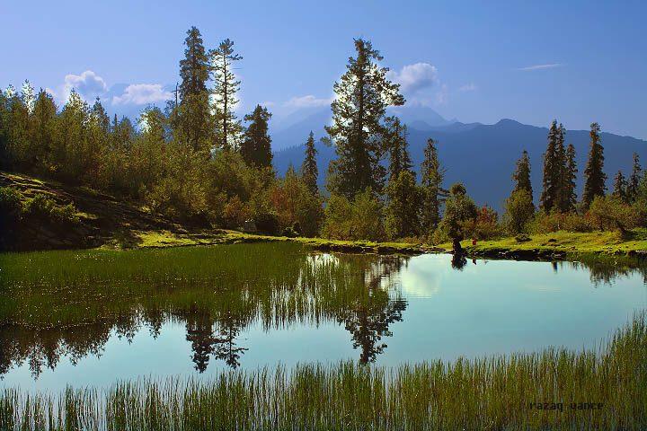 Incredible Landscape Beauty Of Lake Sri In Naran Valley Pakistan