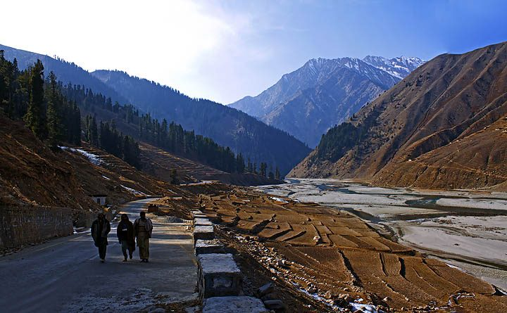 Winter Colors And Life In Naran Valley Pakistan