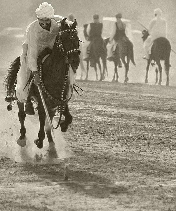 Horses And Horsemen Of Punjab Pakistan