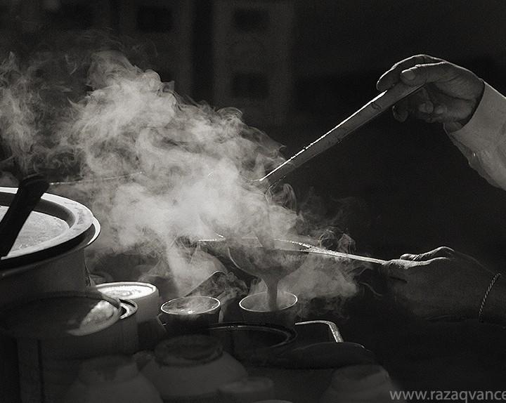 It Is Tea Time In Winter