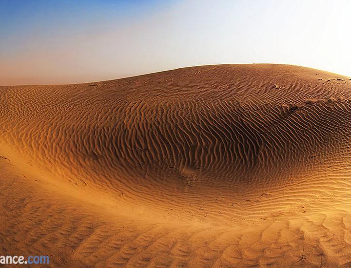Dramatic Evening Light In Thal Desert