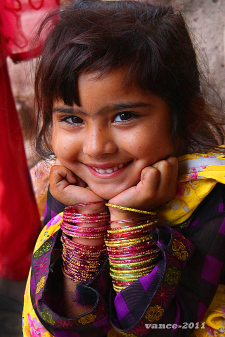 Innocent Beauty And Smile