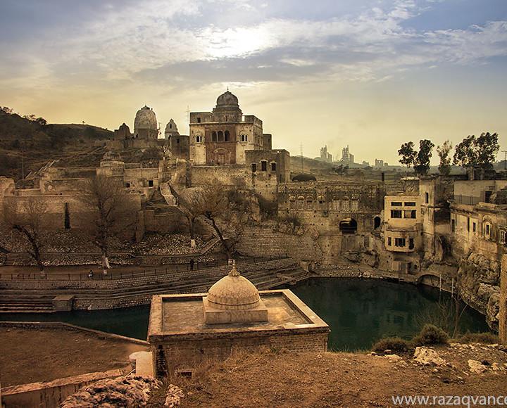 Ancient Beauty Of katas Raj Temple Complex In  Chakwal Pakistan