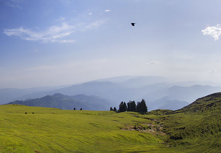 A BREATHTAKING PANORAMIC VIEW OF TOLI PEER KASHMIR