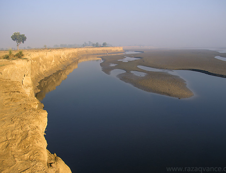 Beauty OF Morning Light At River Ravi In Pakistan