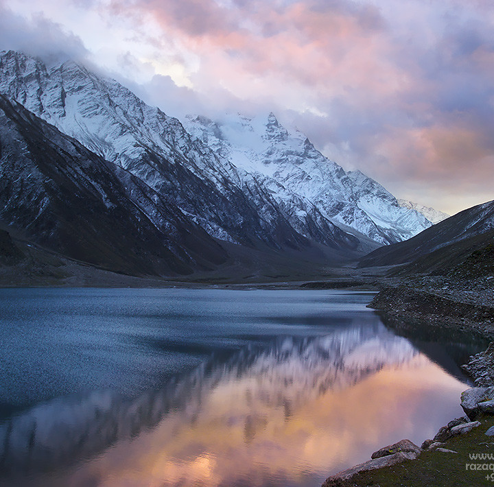 Last Light At Lake Saiful Maluke In Naran Valley Pakistan