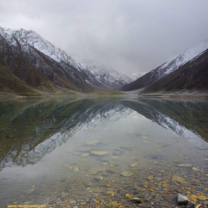 Tranquility And Solitude At Lake Saiful Maluke In The Month Of October