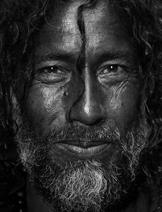 Mystic Man from the Shrine of Sufi Saint Madhu Lal Hussain