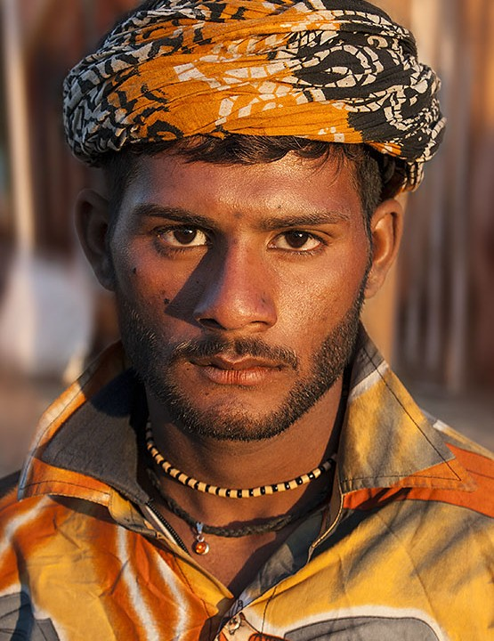 PORTRAIT PHOTOGRAPHY AND A FACE FROM A VILLAGE FESTIVAL IN PUNJAB