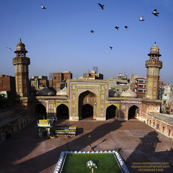 Architectural Beauty Of Wazir Khan Mosque In Lahore Pakistan