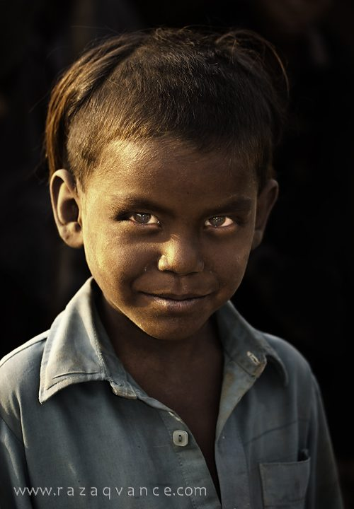 Raw Beauty and Innocence of a Nomad Boy