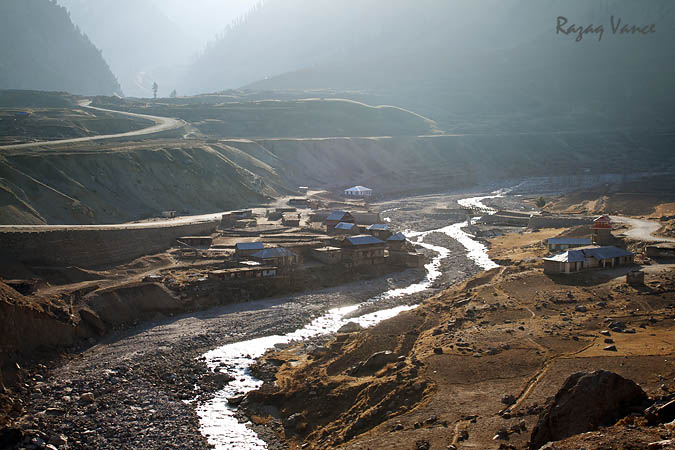 Morning in the Mountains of Naran Valley Pakistan
